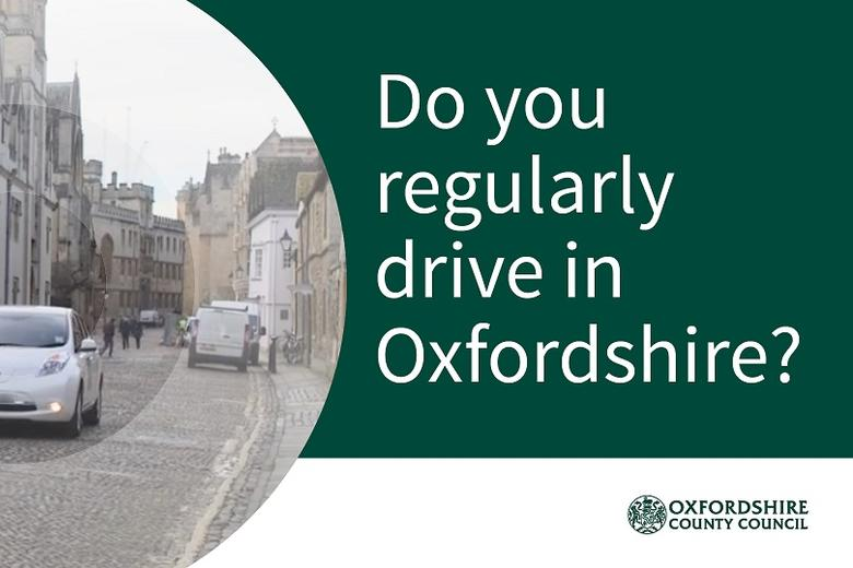 Oxfordshire County Council banner re survey