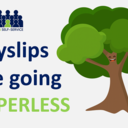 Tree image to represent payslips going paperless