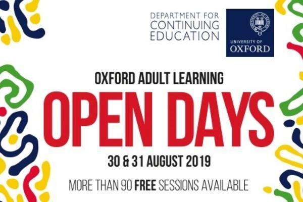 cont ed open days banner