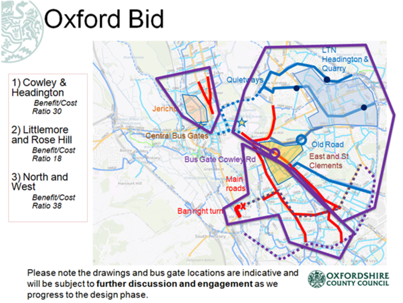 Oxford travel bid Oxfordshire County Council