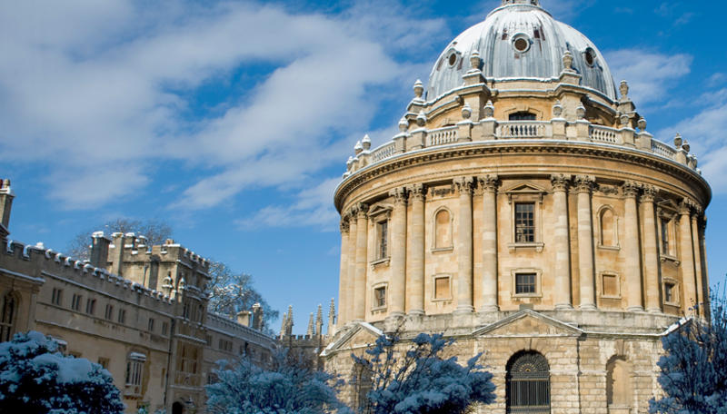 A photograph of the Radcliffe Camera, Oxford
