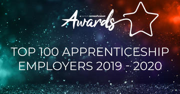 top 100 apprenticeship employers 2019 banner